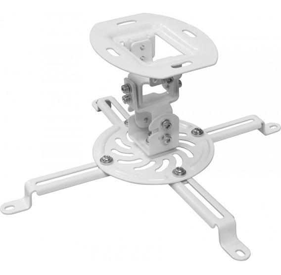 Suporte Para Projetor De Teto Universal Pro100 Branco Elg