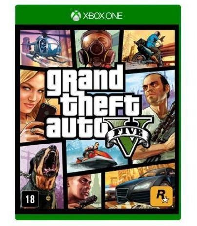Gta V - 5 Xbox One S Mídia Digital
