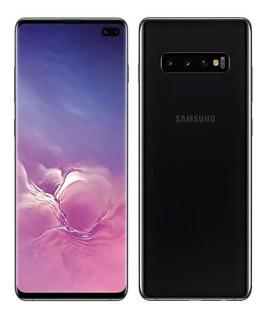 Samsung Galaxy S10 128gb Triple Cámara Black + Vidrio 3d