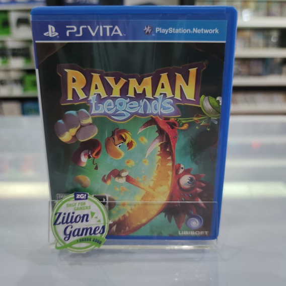 Rayman Legends Ps Vita Português - Completo