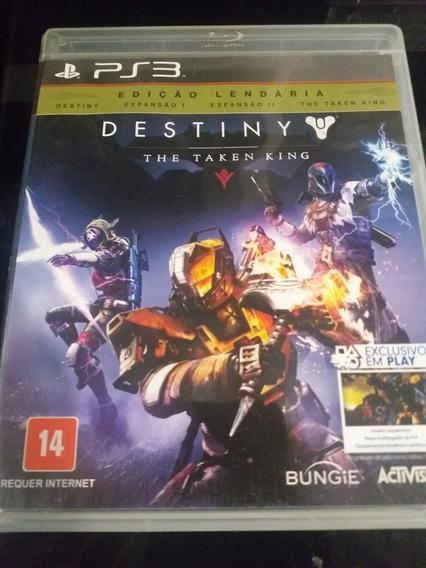 Destiny The Taken King Edição Lendária Ps3 Midia Física