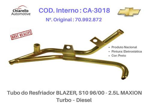 Tubo Resfriador Blazer S10 2.5l Maxion Turbo Diesel