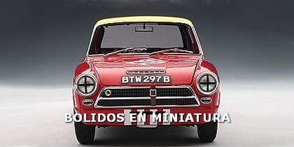 Lotus Cortina Mk1 1964 - Budapest Nagydij Etc - Autoart 1/18