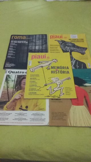 Revista Piauí Lote 05 Unidades