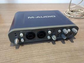 Interface De Áudio Maudio Fast Track Pro
