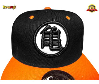 Dragon Ball Goku Edicion Black Super Logo Bordado Gorra