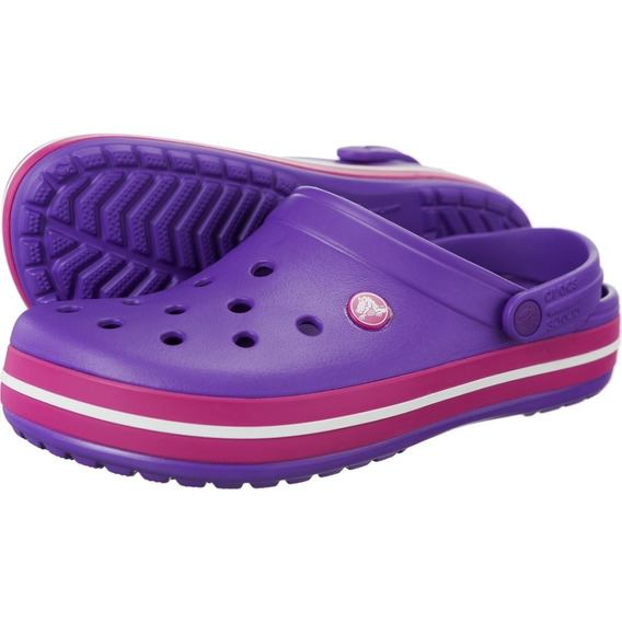 Crocband Neon Purple Candy Pink 11016-604