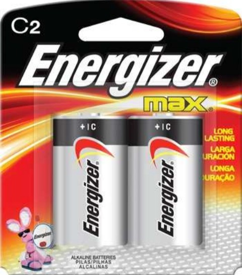 Pila Bateria Energizer Modelo C 2 Alkalina