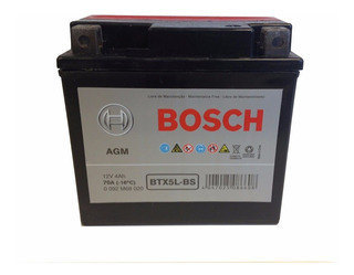 Bateria Bosch Ytx5l-bs Honda Biz 125 Cg Titan Xr - Fas