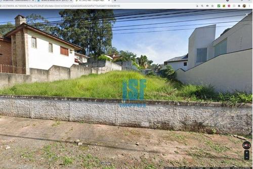 Imagem 1 de 2 de Terreno Parque Dos Principes, Leve Aclive  560 M2   Com  18 M De Frente - Te0745