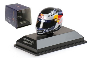 Casco 2010 Formula F1 Escala 1:8 Minichamps Red Bull