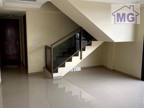 Cobertura À Venda, 140 M² Por R$ 590.000,00 - Glória - Macaé/rj - Co0041