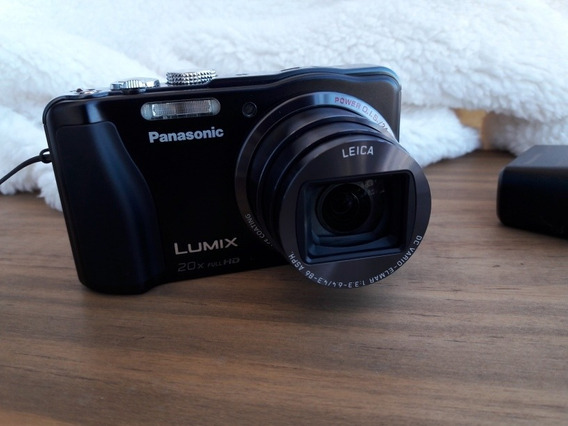 Camera Panasonic Lumix Dmc-zs20 Lente Leica