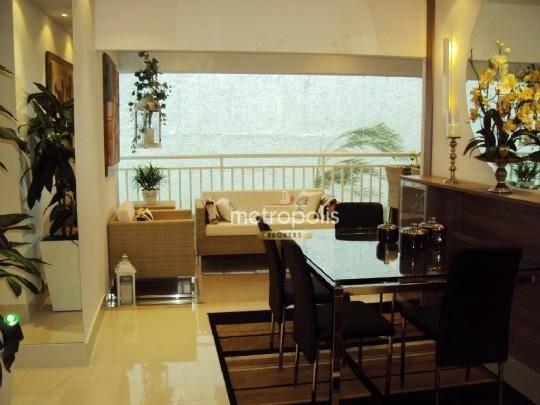 Apartamento Com 3 Dormitórios À Venda, 78 M² Por R$ 585.000,00 - Jardim São Caetano - São Caetano Do Sul/sp - Ap2839