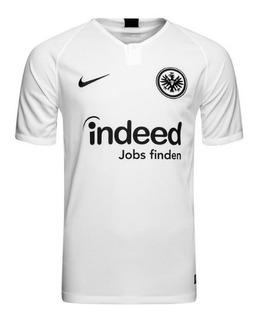 Camisa Eintracht Frankfurt 1º Unif. 18/19 - Pronta Entrega