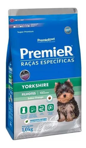 Ração Premier Raças Específicas Yorkshire Cães Filhote 2,5kg