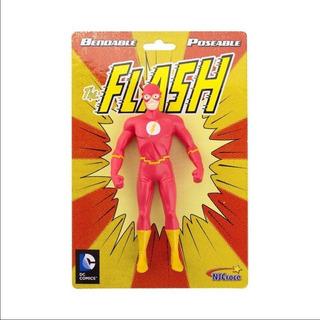 Dc Comics Flash Juguete Figura De Acción Flexible