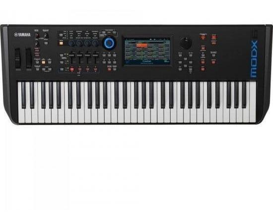 Teclado Sintetizador Modx6 Preto Yamaha Novo Com Nota Fiscal