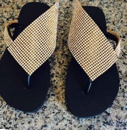 de3f54bf2 Sandalias Decoradas - R$ 75,00 em Mercado Livre