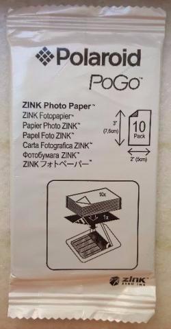 Pacote Polaroid Pogo 2x3