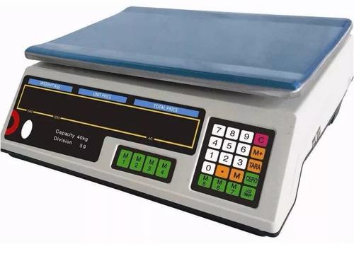 Balanza Electronica Digital 40 Kilos 220 Y Bateria