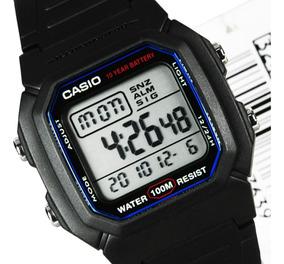Relogio Casio W-800h-1/hg-9 Retrô-vintage Alarm Crono Luz Wr