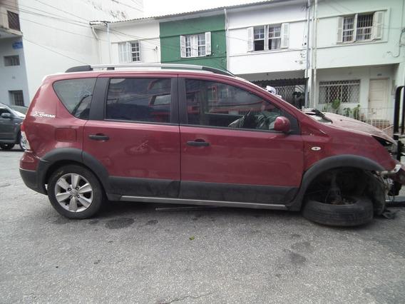 Sucata Nissan Livina X-gear Sl Motor Câmbio Bancos Rodas