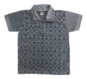 05 Camisa Camiseta Polo Infantil Masculina Menino Atacado