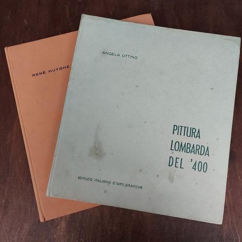 Livros Italianos Pittura Lombarda  E Pittura Francese