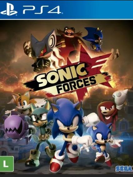 Sonic Forces Ps4 Mídia Física Nacional Pronta Entrega