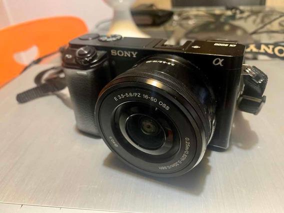 Câmera Sony A6000 + Lente 16-50