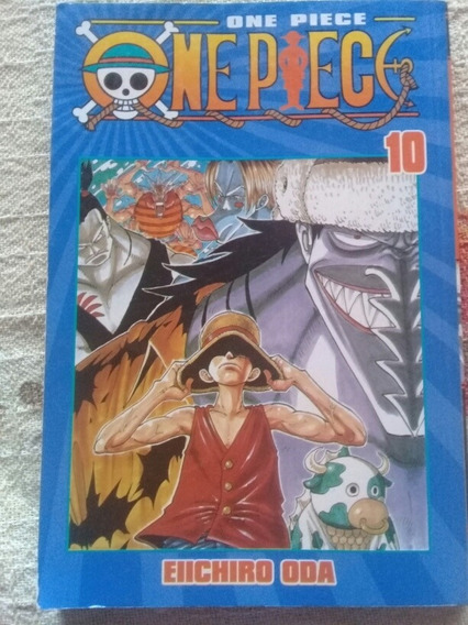 Mangá One Piece Volume 10 Raro