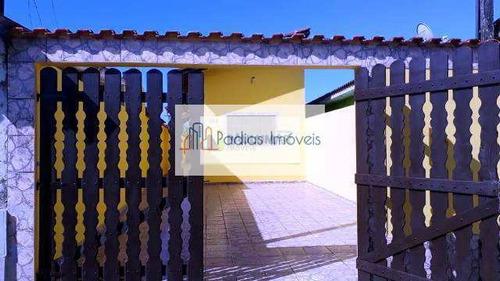 Casa Com 2 Dorms, Vila Oceanopolis, Mongaguá - R$ 190 Mil, Cod: 858178 - V858178
