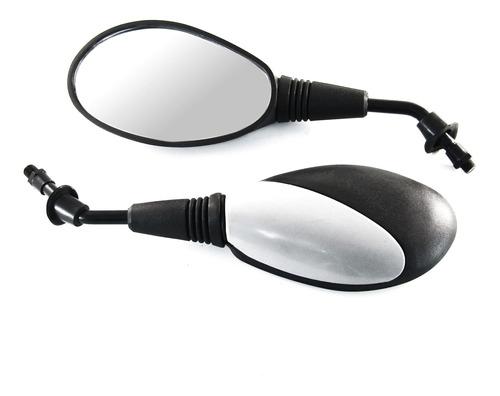 Espejo Yumbo Furious Negro Con Gris 10mm
