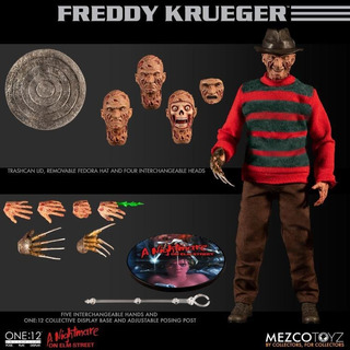 Mezco One:12 Freddy Krueger A Nightmare On Elm Street One:12