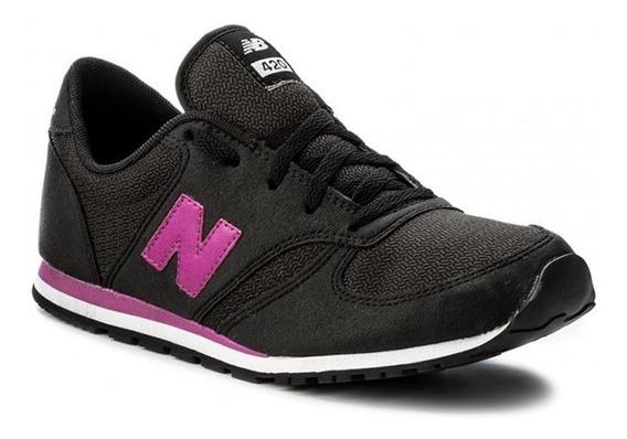 New Balance Zapatilla Lifestyle Niña 420 Kl420cky Negro Fkr