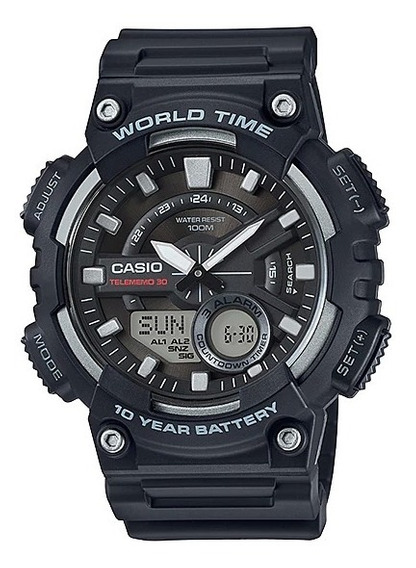 Relógio Casio Digital Aeq-110w-1avdf - Original