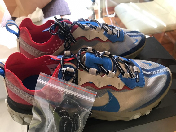 Nike React Element 87 Undercover (light Beige) 7 Mx Nuevos