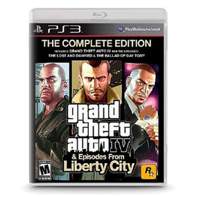 Grand Theft Auto 4 Complete Edition - Ps3 Playstation 3