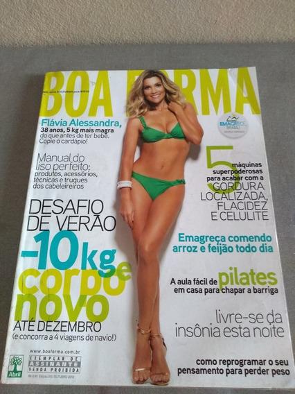 Revista Boa Forma Flávia Alessandra Edição 310 Ano 2012