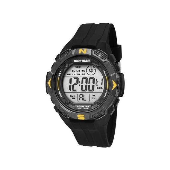 Relógio Mormaii Masculino Preto Mo2908/8y