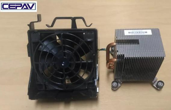 Kit Cooler Heatsink Dissipador Hp Dc 8000 Mais Duto De Ar