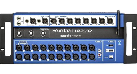 Mesa Digital Soundcraft Ui24r Wifi - Nova (pronta Entrega)