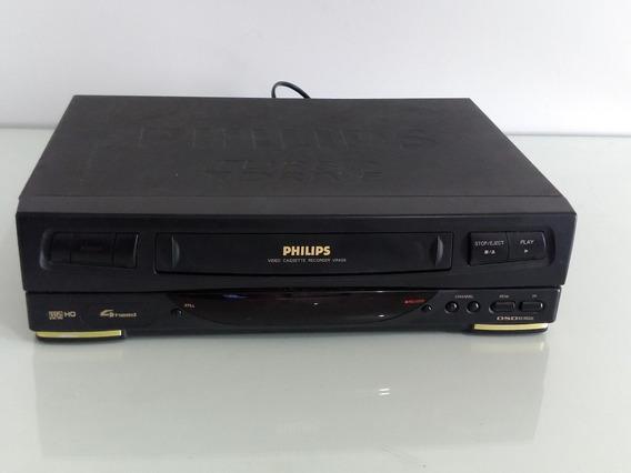 Video Cassete Philips Vr 456 Com Defeito