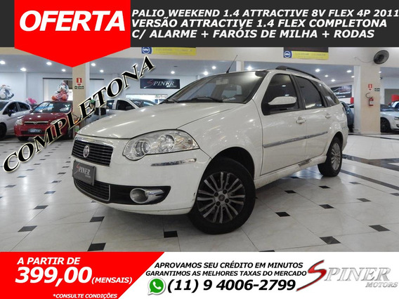 Fiat Palio Weekend 1.4 Attractive 8v Fire Flex 4p Completa