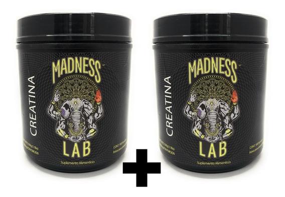 Madness Lab Creatina 500 Gr Polvo (2 Unidades)