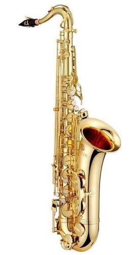 Imagen 1 de 3 de Jupiter Saxofón Tenor Sib, Laqueado Con Estuche Jts500
