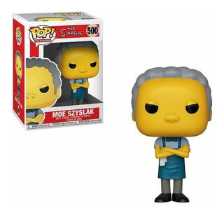 Muñeco Funko Pop Moe Szyslak 500 Los Simpsons Original