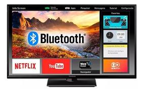 Smart Tv 32 Panasonic Led F-hd Wi-fi Netflix + Suporte Brind