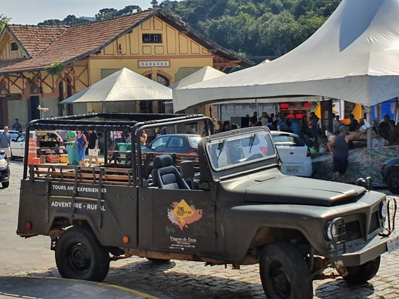 Jeep Willys Overland - Cachorro Louco 4x4 1966